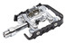 SQlab 502 Pedal Long svart/silver